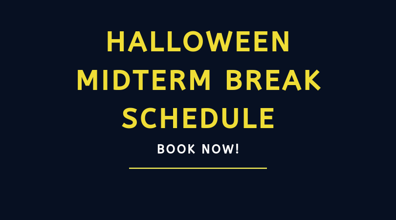 BOOK NOW: Halloween Midterm Camp, Classes & Workshops