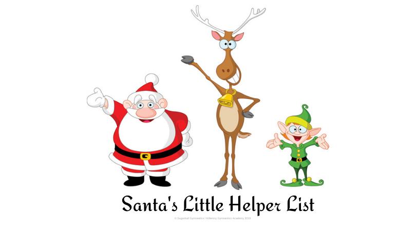 Santa's Little Helper List 2019