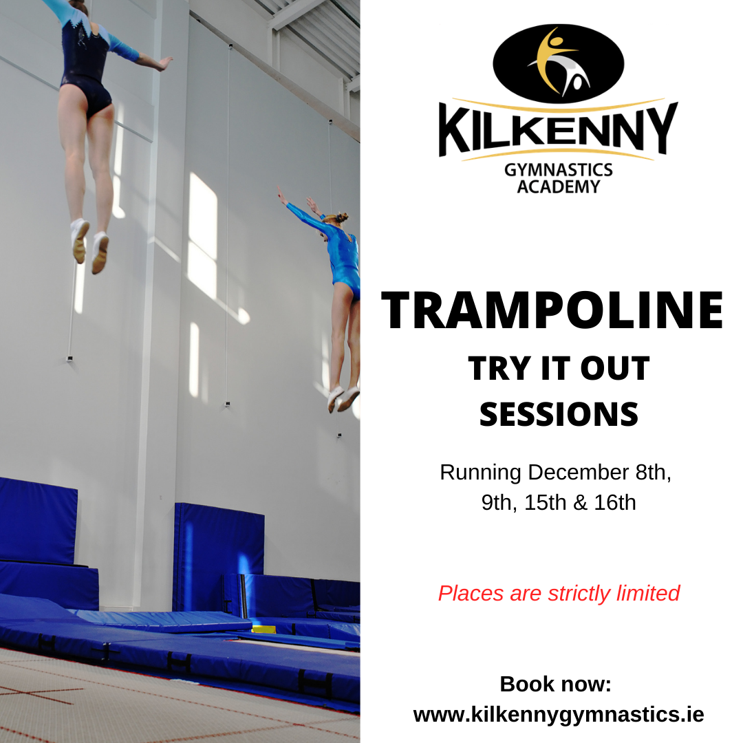 BOOK NOW: TRAMPOLINE TRY IT OUT SESSIONS