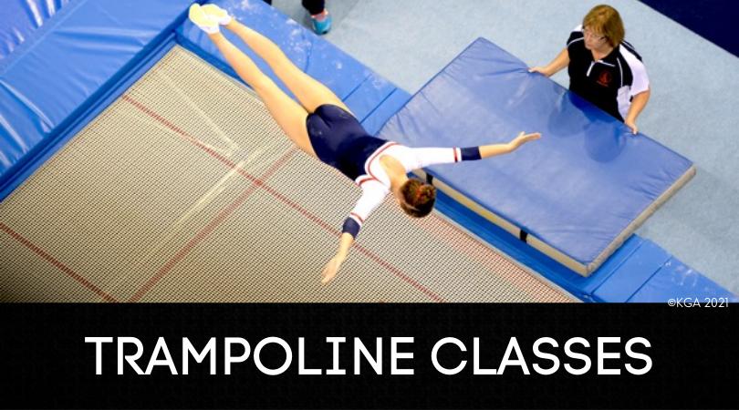 BOOK NOW: Trampoline Classes June '21