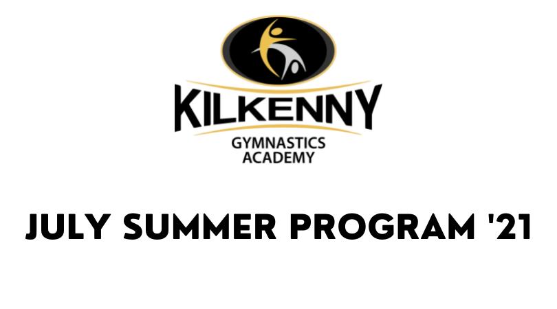 BOOK NOW: July Summer Program '21